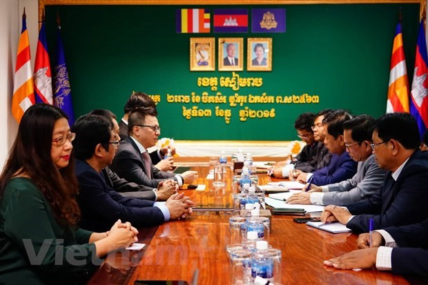 Vietnamese, Cambodian news agencies look to boost ties hinh anh 4