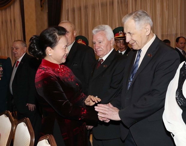 Vietnam always remembers Belarus's support during war time: Top legislator hinh anh 1