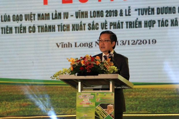 Fourth Vietnam Rice Festival underway in Vinh Long hinh anh 1