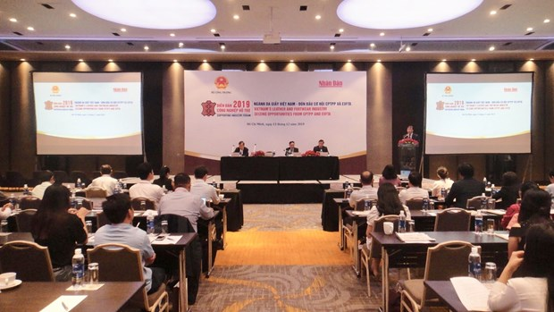 Forum urges leather-footwear sector's actions to grasp chances hinh anh 1