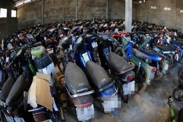 Police propose auctioning unclaimed seized vehicles hinh anh 1