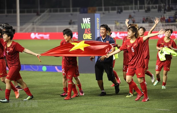 Women's football team up two spots on FIFA global rankings hinh anh 1