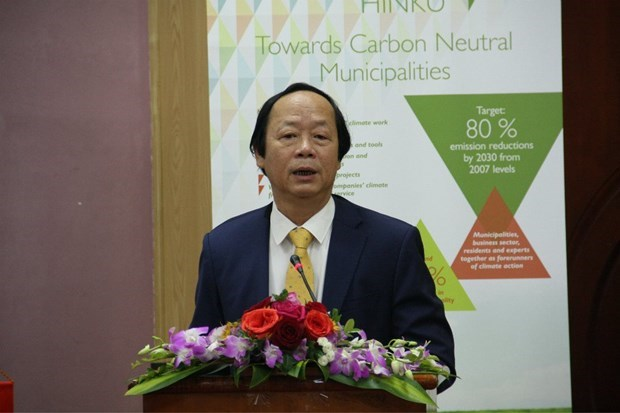 Finland helps Vietnam build carbon neutral municipalities hinh anh 1
