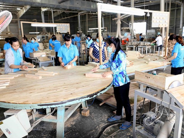 Timber, wood product exports reach 9.64 bln USD in 11 months hinh anh 1