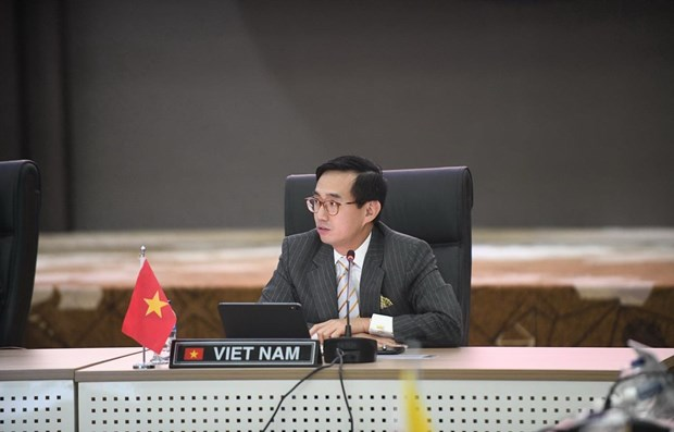 Vietnam assumes Chairmanship of Permanent Representatives to ASEAN hinh anh 1