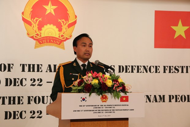 Vietnam-RoK defence cooperation enjoys unceasing development hinh anh 1
