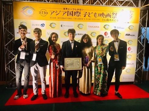 Hanoi students honoured at Asian International Children's Film Festival hinh anh 1