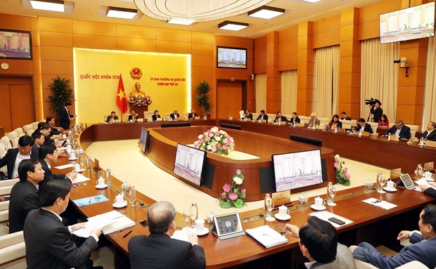 NA Standing Committee commences 40th session hinh anh 1