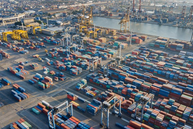 Indonesia reports trade deficit in November hinh anh 1