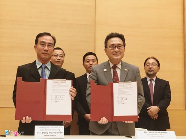 Japan provides aid to five projects in Vietnam hinh anh 1