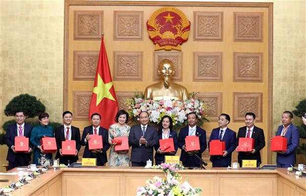 PM urges young entrepreneurs to make greater efforts for development hinh anh 1