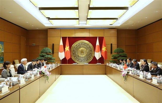 Vietnam, Japan enhance parliamentary ties hinh anh 1