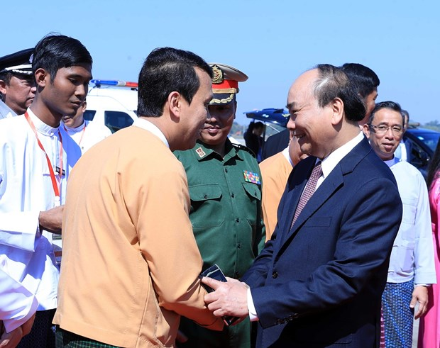 Prime Minister concludes Myanmar visit hinh anh 1