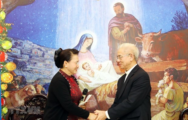 NA leader hails contributions of Catholics solidarity committee hinh anh 1