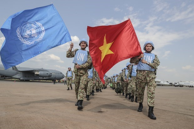 UN lauds Vietnam's contributions to peacekeeping missions hinh anh 1