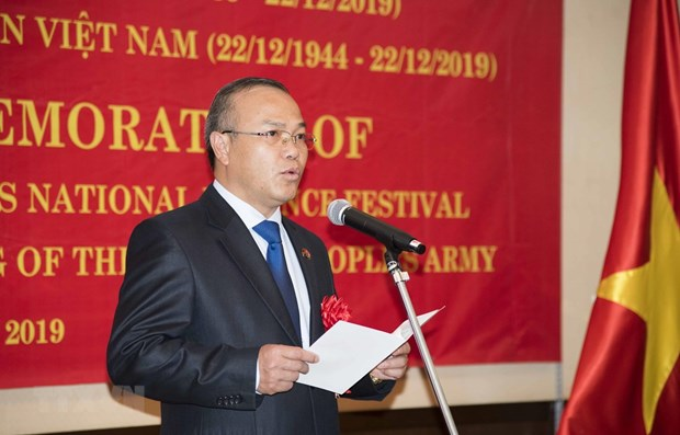 Founding anniversary of Vietnam People's Army marked in many countries hinh anh 1