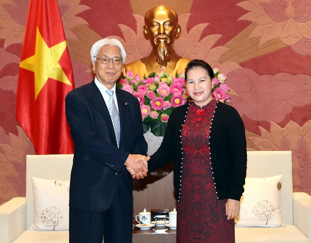 Vietnam, Japan agree to enhance exchanges between parliamentarians hinh anh 1