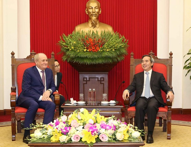 Vietnam wants to step up cooperation with Gazprom: Party official hinh anh 1