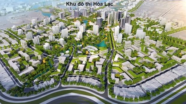 Hanoi satellite urban areas take slow formation hinh anh 1