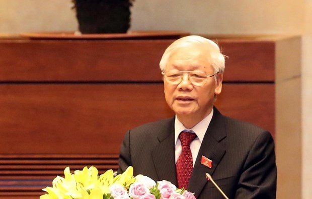 Army stands firmly under Party's leadership: top leader hinh anh 1