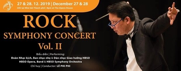 Rock Symphony concert to welcome New Year hinh anh 1