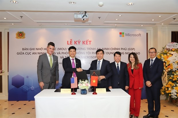 VN to join Microsoft's network security protection programme hinh anh 1
