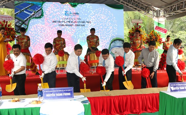 HCM City begins work on first hazardous waste treatment plant hinh anh 1