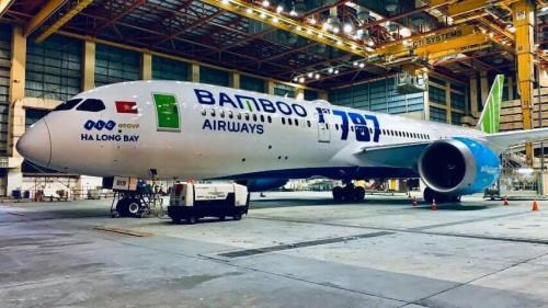 Bamboo Airways takes delivery of first Boeing 787-9 Dreamliner hinh anh 1