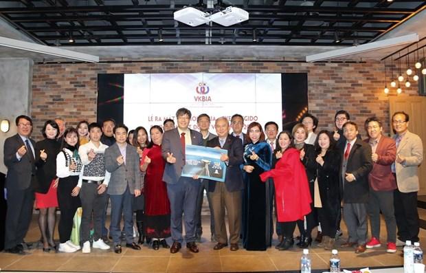 Vietnam-RoK businessmen association establishes chapter in Gyeonggi province hinh anh 1