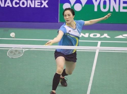 Badminton player Vu Thi Trang wins Graphics Challenge title hinh anh 1