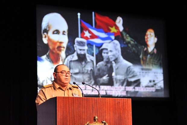 Cuba honours heroic tradition of Vietnam People's Army hinh anh 1
