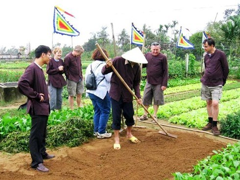 Hoi An gears up for tours to Tra Que vegetable village hinh anh 1