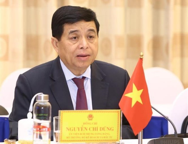 Vietnamese, Lao investment ministers talk cooperation hinh anh 1