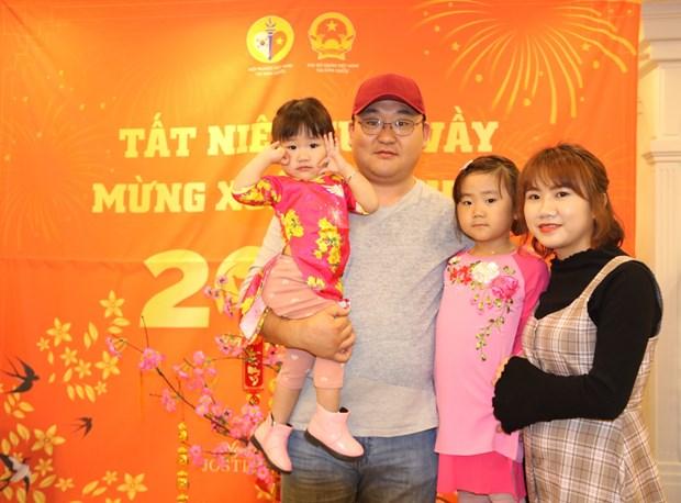 Vietnamese people in RoK celebrate Tet hinh anh 1