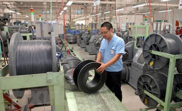 Bac Ninh's IPs target 1.2 quadrillion VND in industrial production value hinh anh 1