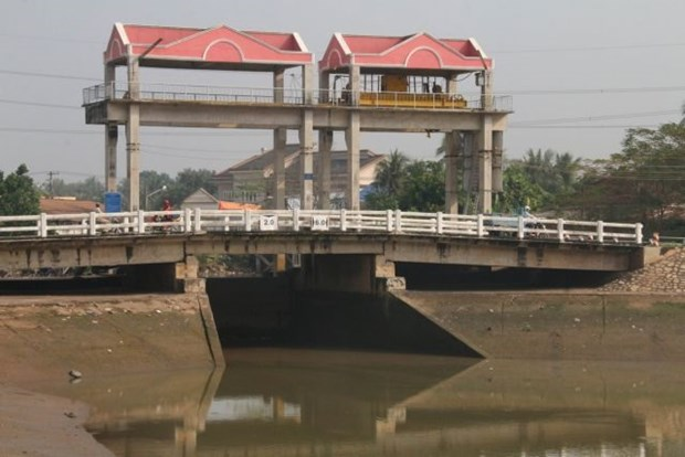 Saltwater enters Mekong Delta rivers earlier than normal hinh anh 1