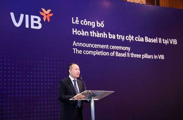 VIB becomes first local bank to complete Basel II three pillars hinh anh 1