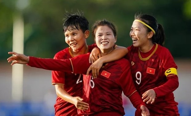 Vietnamese women's team prepare for Olympics qualifiers hinh anh 1