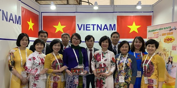 Vietnam attends traditional medicine exhibition in India hinh anh 1