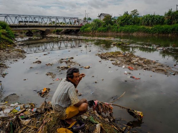 Indonesia: 98 percent of rivers polluted hinh anh 1