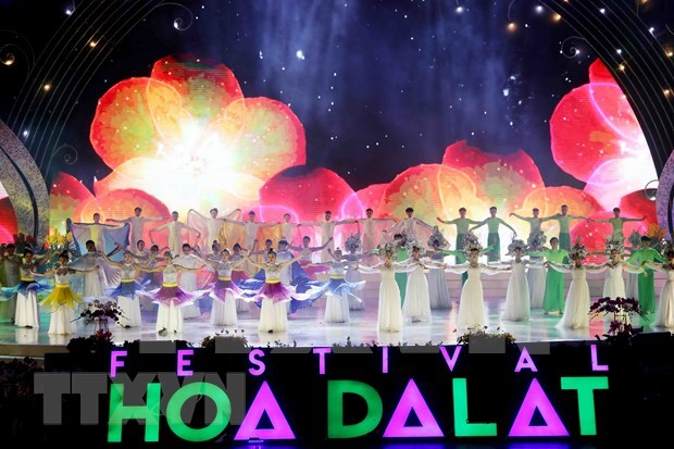 Da Lat Flower Festival wraps up in success hinh anh 1