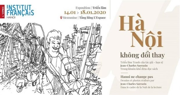 L'Espace to show sketches and photos by French artist hinh anh 1