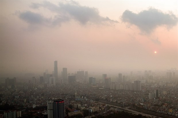 Hanoi schools to shut on bad air days hinh anh 1