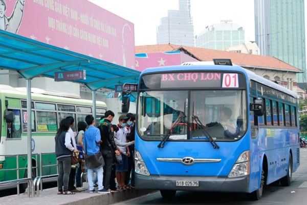 HCM City plans public bidding for bus routes hinh anh 1