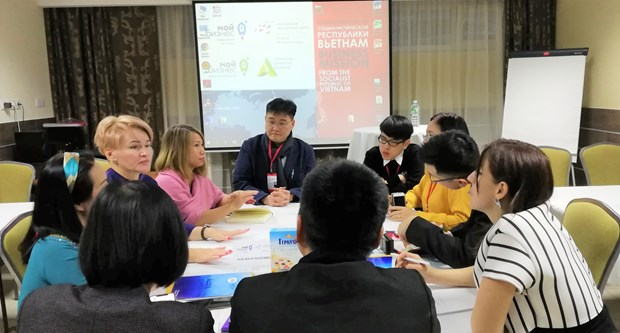Vietnamese businesses join trade promotion event in Russia hinh anh 1
