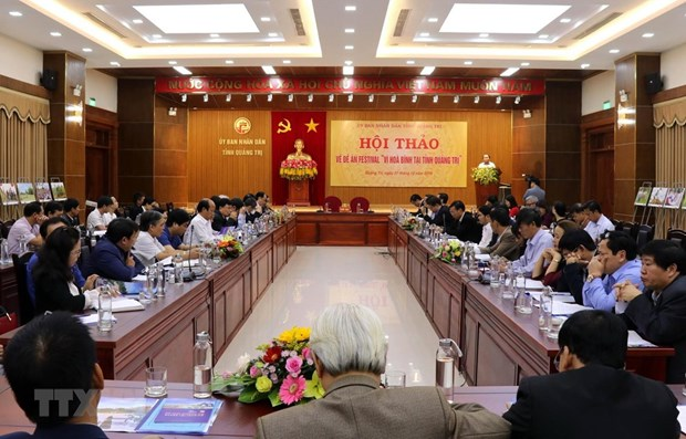 Quang Tri hosts workshop on peace festival hinh anh 1