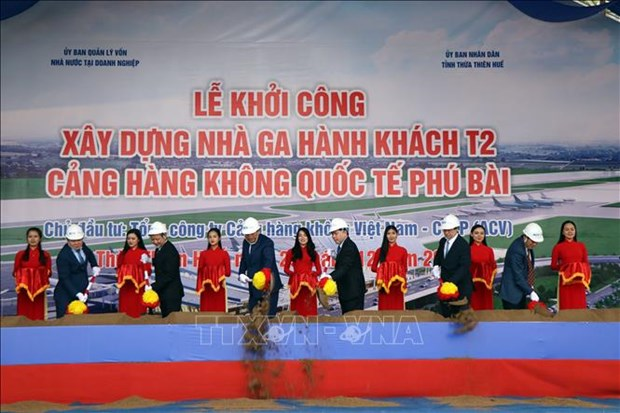 New terminal to raise capacity of Phu Bai airport in Thua Thien-Hue hinh anh 1