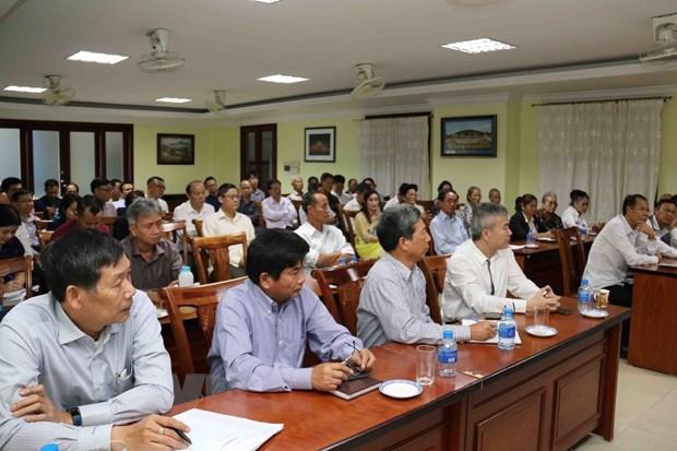 Vietnamese in Laos strengthen solidarity hinh anh 1