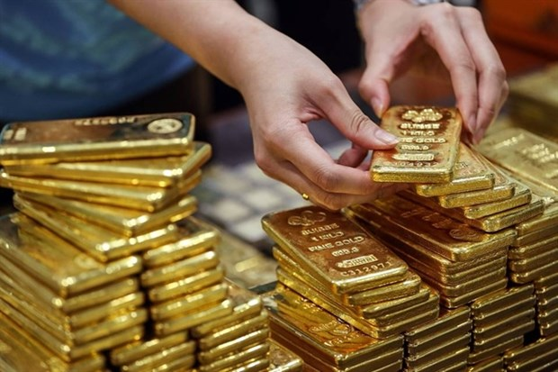 Gold sees strongest price increase in three months hinh anh 1