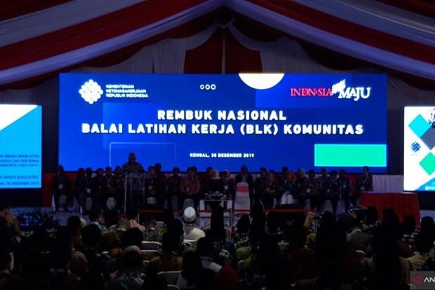 Indonesia targets 2,000 vocational training centres in 2020 hinh anh 1